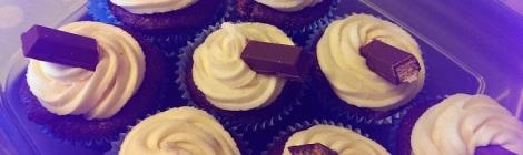 Kit Kat Cupcakes