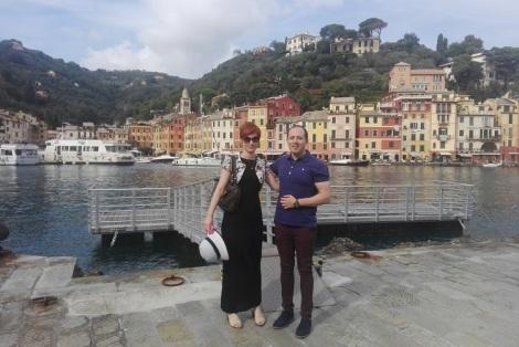 Romance in Portofino